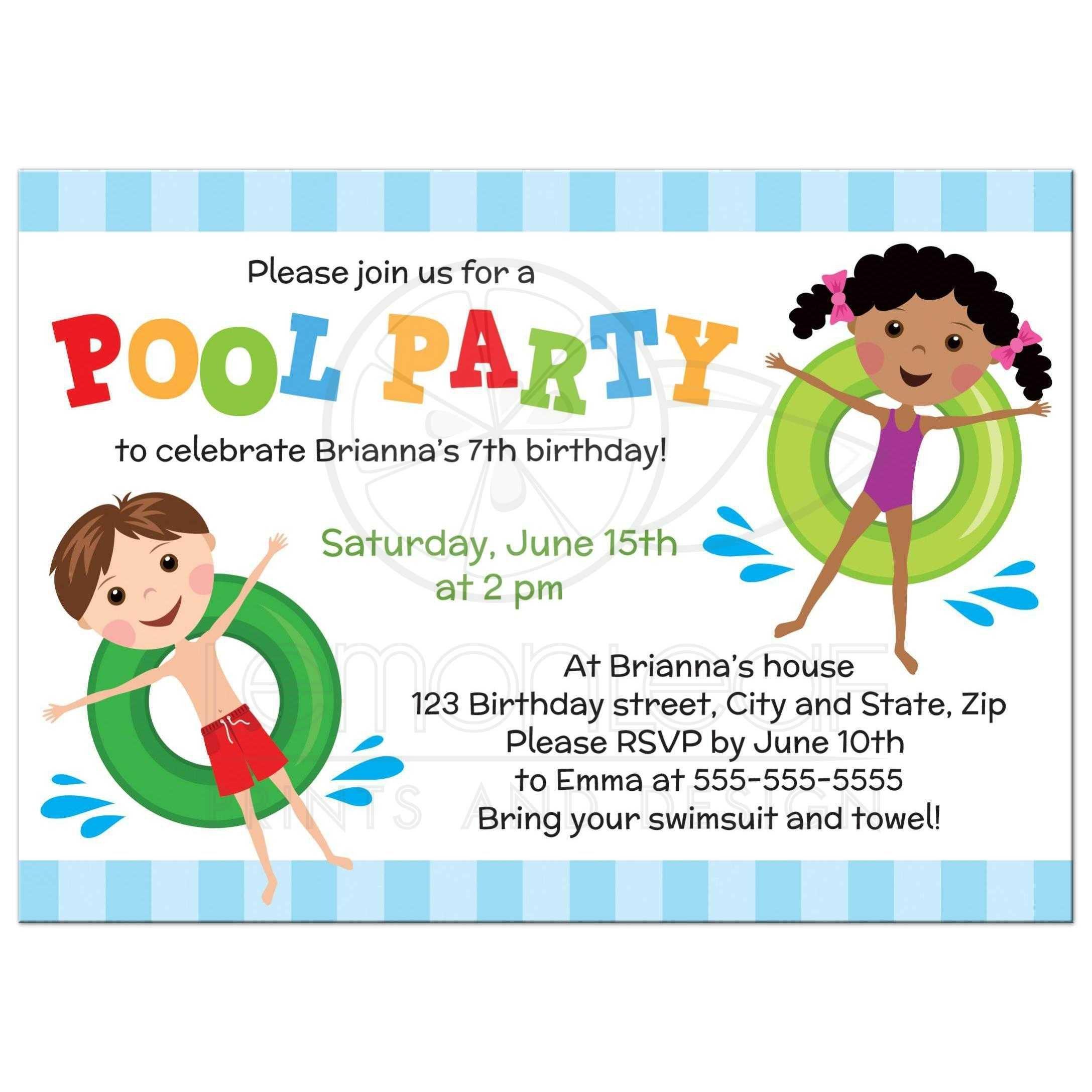 Einladung Poolparty Kostenlos Ausdrucken Einladung Poolparty Kinde Einladungskarten Kindergeburtstag Einladung Kindergeburtstag Einladungskarten Zum Ausdrucken