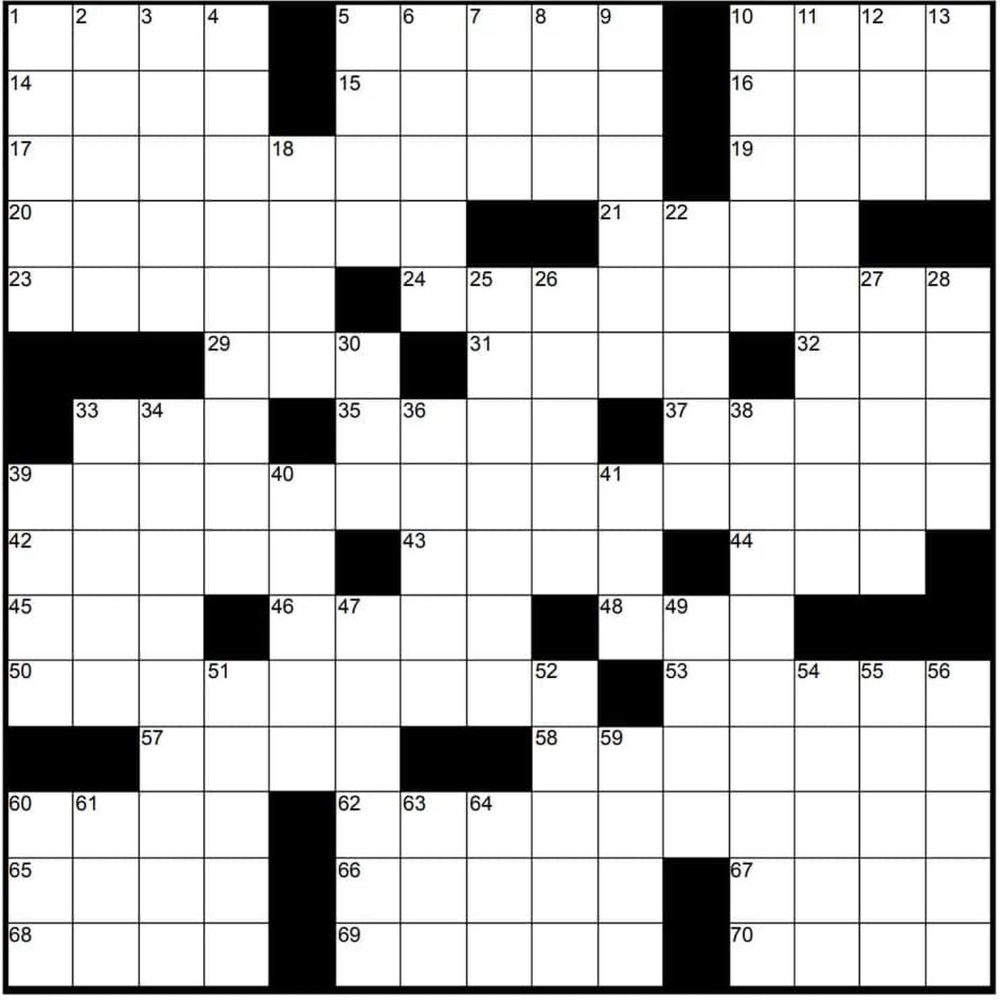 Muller Monthly Music Meta Crossword Puzzles Free From The