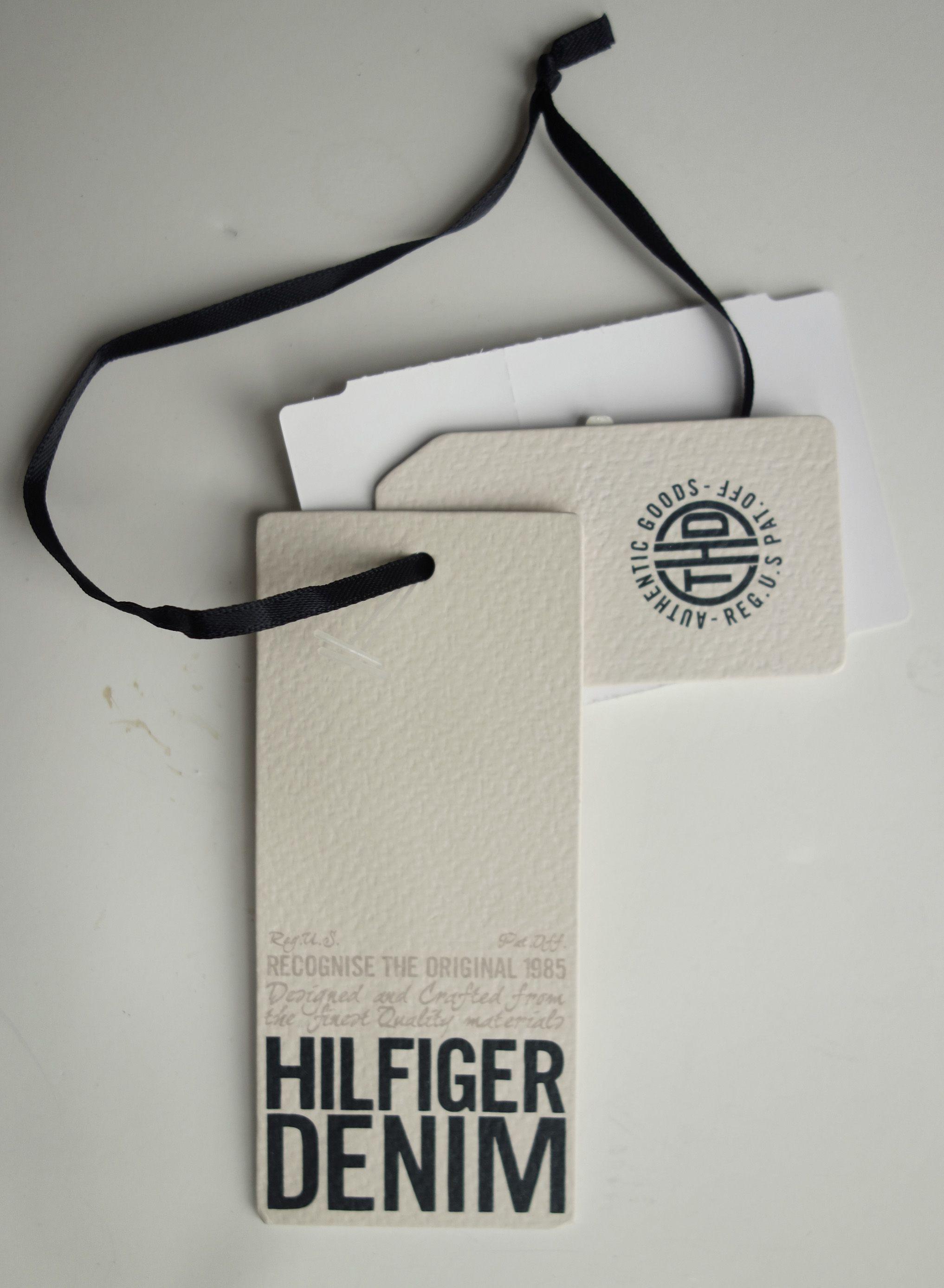 3a48d81cc9c Hilfiger denim hangtag Pintrest Logo
