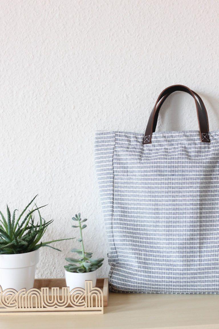 ¡Es hora de tutoriales! – Coser una mochila tote bag • Hilo de marinero – hecho a mano  – Bolsa de moda