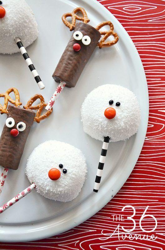 Aperitivos Dulces De Navidad Para Niños Snack Navideños Dulces De Navidad Mesa De Postres Navidad