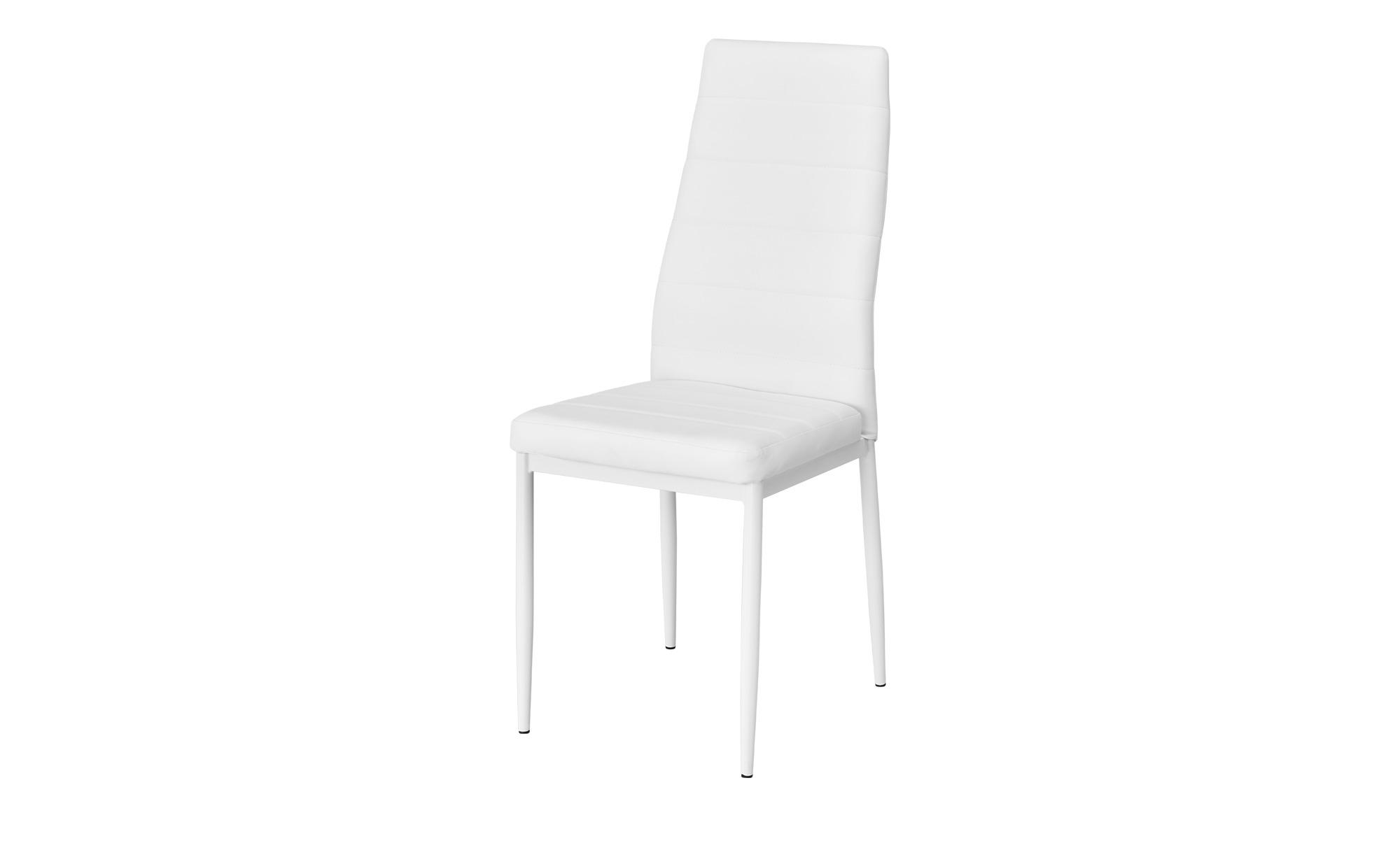 Stuhl Nick ¦ weiß ¦ Maße (cm): B: 40 H: 98 T: 50,5 Stühle ...