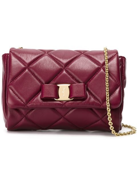 c43b209a1238 Shop Salvatore Ferragamo  Gelly  quilted crossbody bag in Vitkac from the  world s best independent