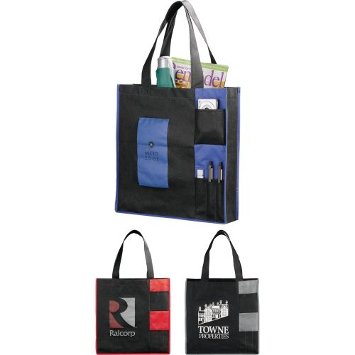 Non Woven Pocket Convention Tote from NYFifth