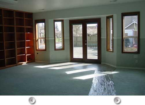 Alternative To Leaving The Converted Garage Entrance Flat Remodel Remodel Bedroom Garage Conversion