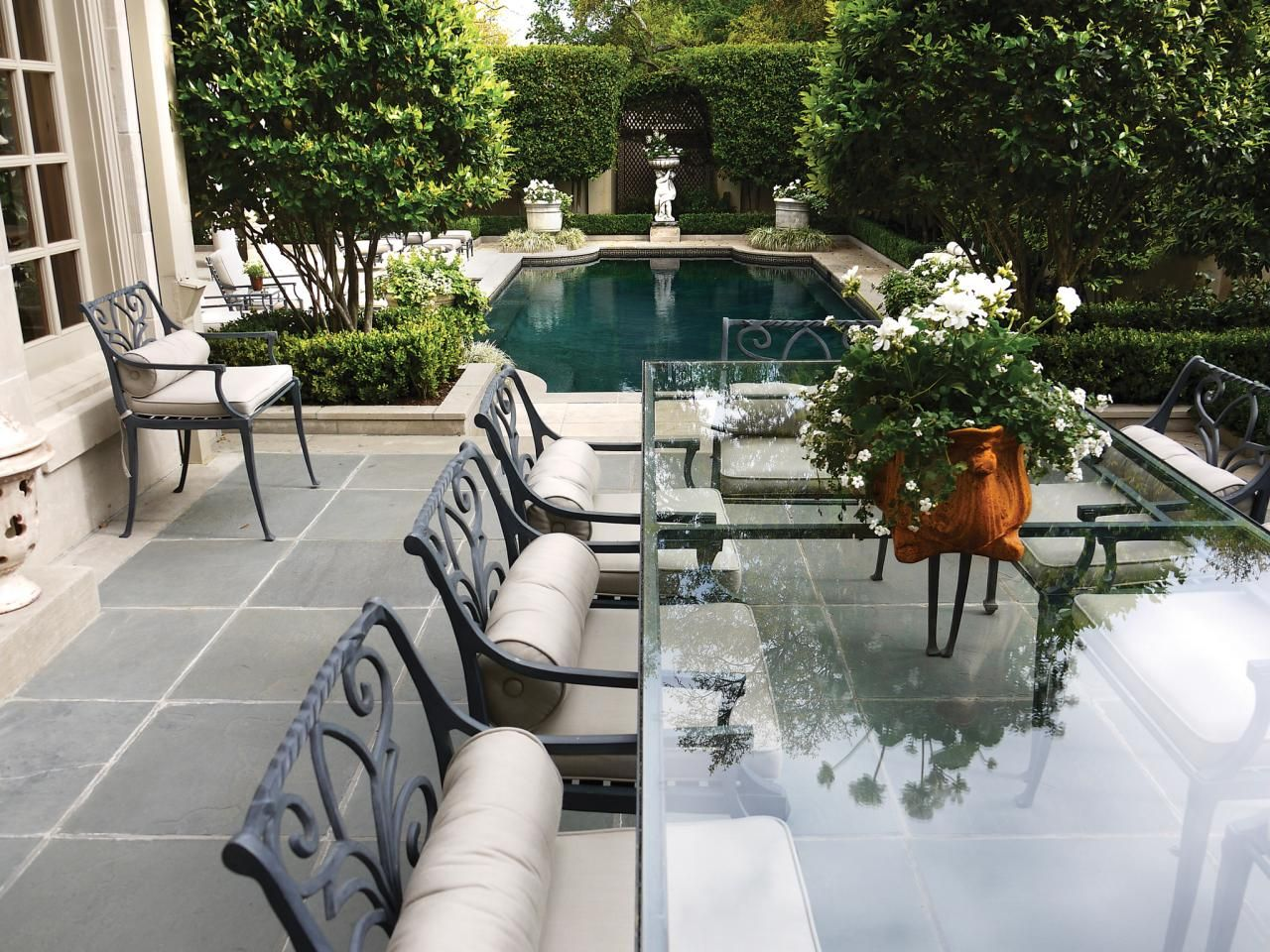 21++ Elegant glass top outdoor dining table Tips