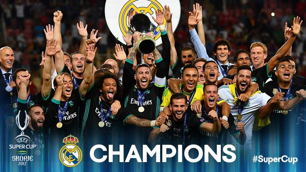 Pin by DCZKY on !**Madridista**! Uefa super cup