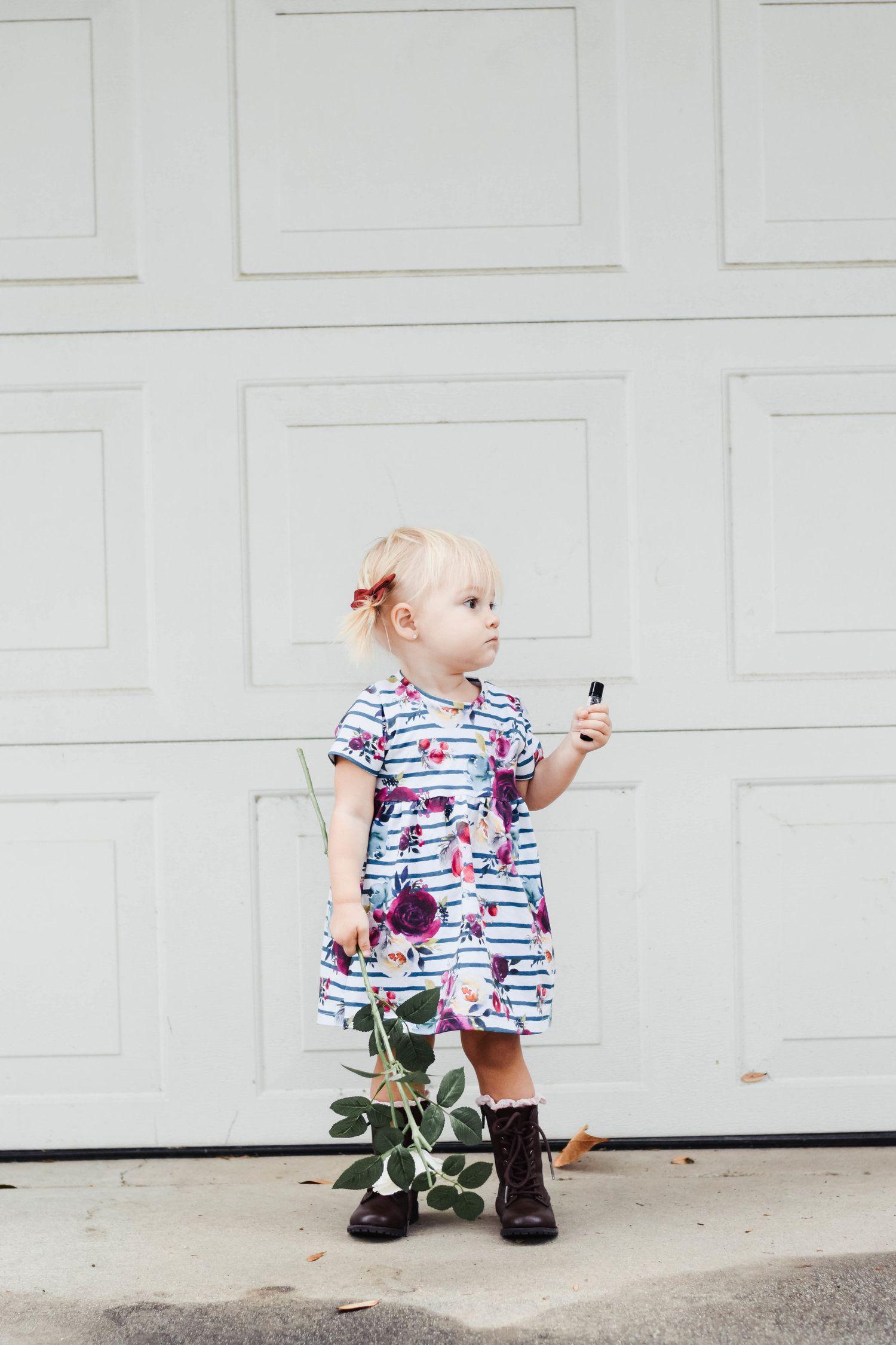 Kids Fashion | Comat Boots + Floral