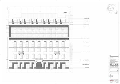Edificio viale Monte Grappa, Milano, 2013 - Westway Architects