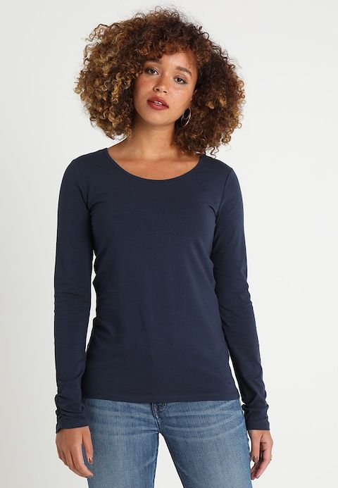 later official store catch LONGSLEEVE - Long sleeved top - navy @ Zalando.co.uk ...