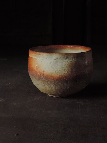 Tea Bowl, Mitch Iburg, Native Virginia Clay, Anagama Fired