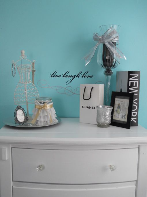 tiffany inspired bedroom on a budget - bedroom designs
