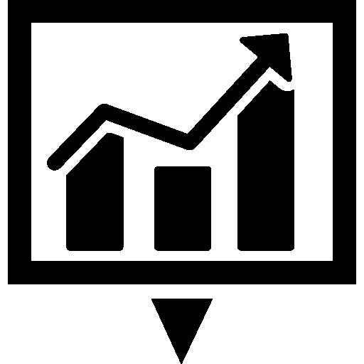 Download Business Statistics Symbol Of A Free Icon Freepik Freeicon Business Arrow Graph Graphic Statistics Symbols Free Icons Infographic Templates