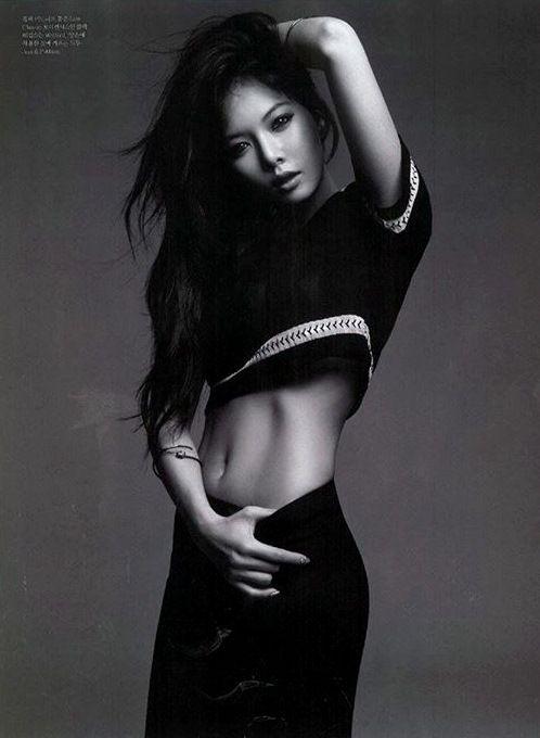Hyuna // Elle Korea // July 2013