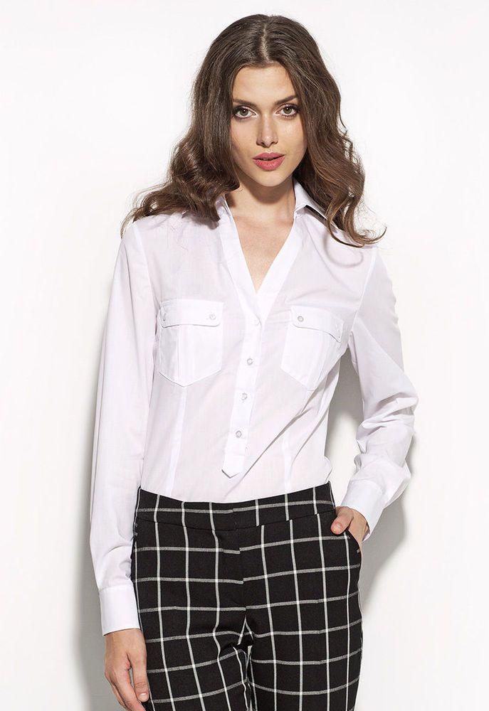 Chemise blanche femme 44 - Vetement fitness et mode f1383523fa6