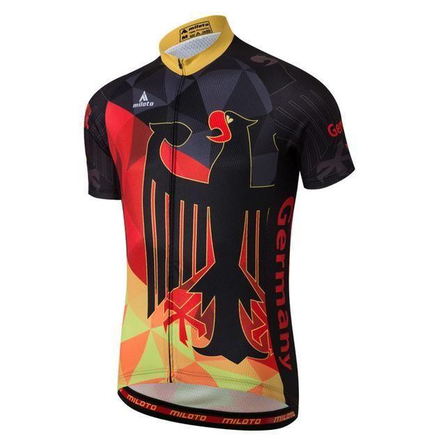 f4a40155b Miloto Cycling Jersey Tops Summer Racing Cycling Clothing Ropa Ciclismo  Short Sleeve Mtb