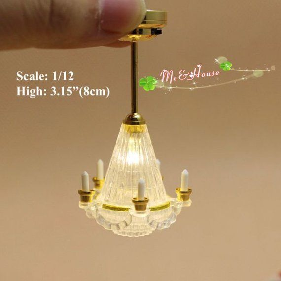 Lovely Item For Your Dollhouse Living Room Scale 1 6 Or 1 12 Material Led Ship To Worldwide Dollhouse Kits