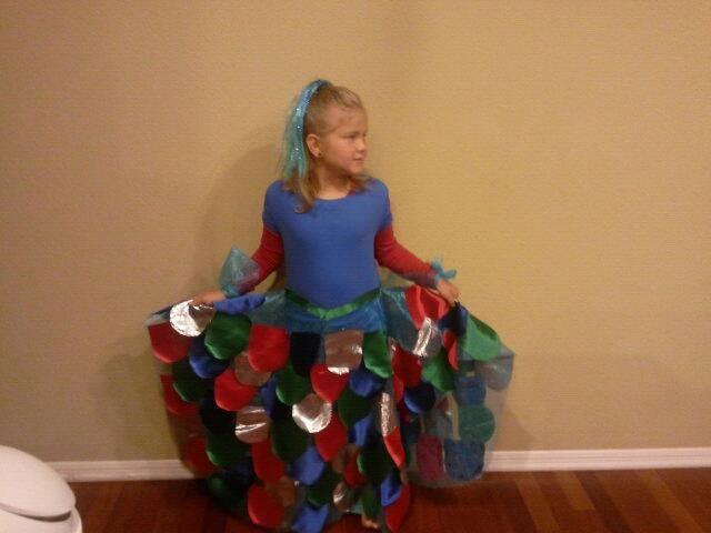 Rainbow Fish costume idea