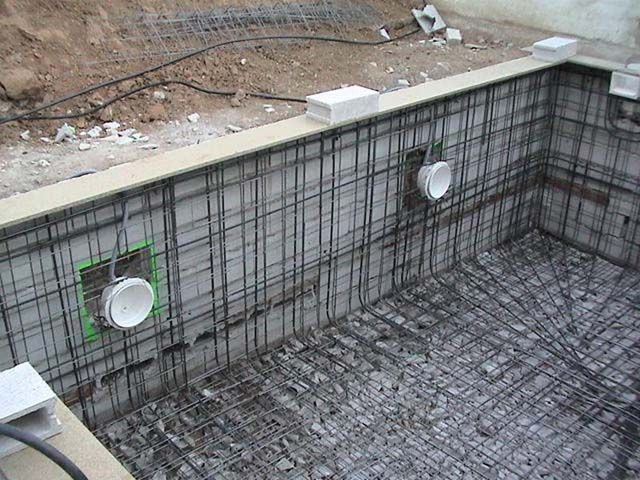 Piscinas de hormig n proyectado gunite diaz pools for Piscinas de cemento construccion