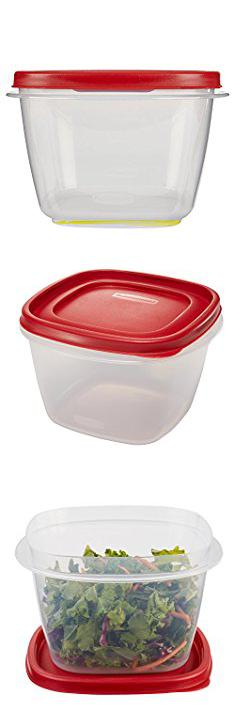 Plastic Storage Containers Sale Rubbermaid Easy Find Lid Food