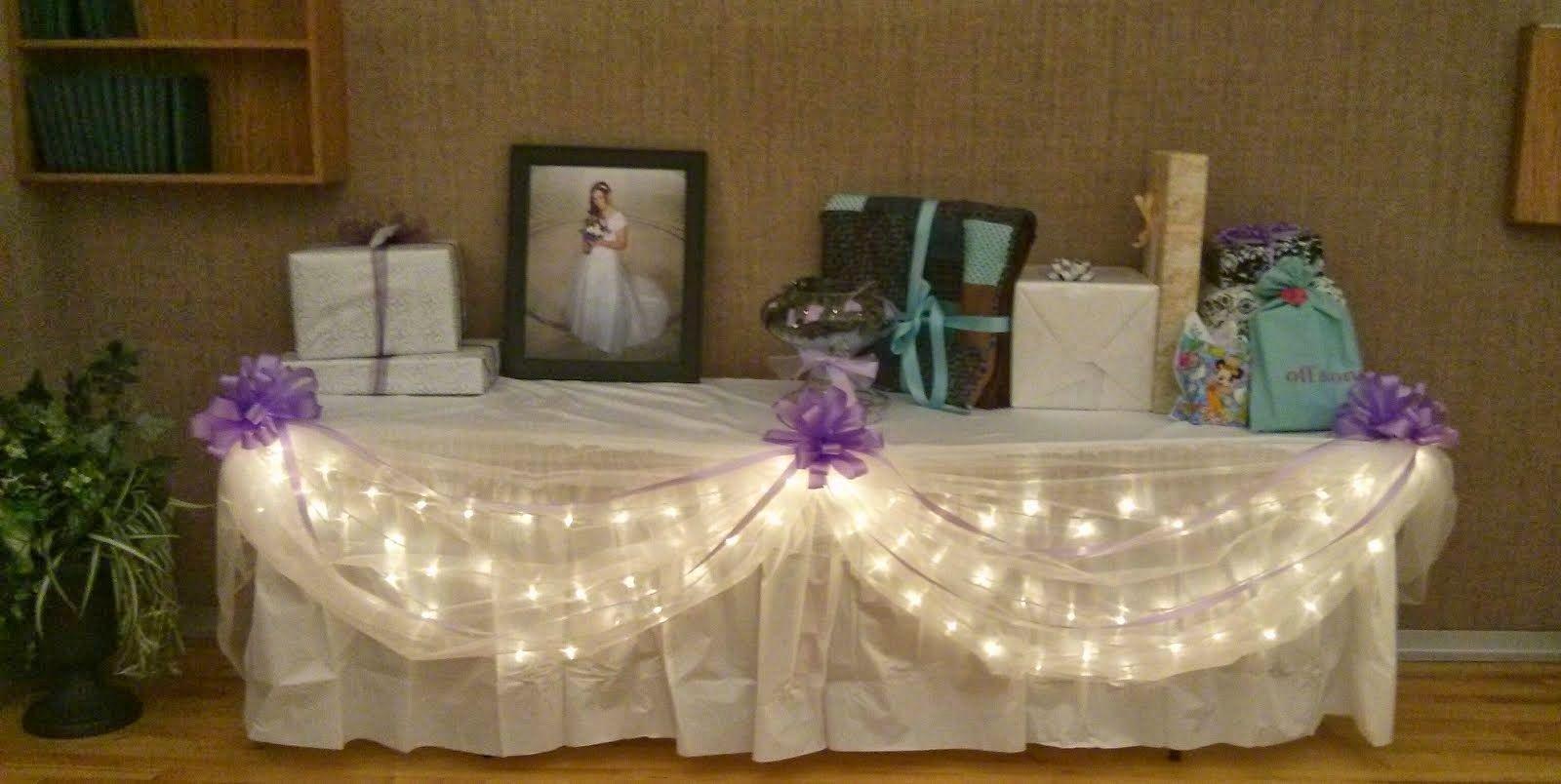 Wedding Reception Decor Lds Church Cultural Hall