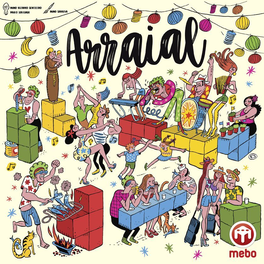 Arraial Image Boardgamegeek With Images Board Games Board