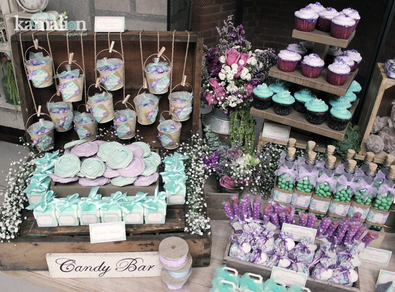 rustic baby showers candy table candy bars bridal shower shower ideas