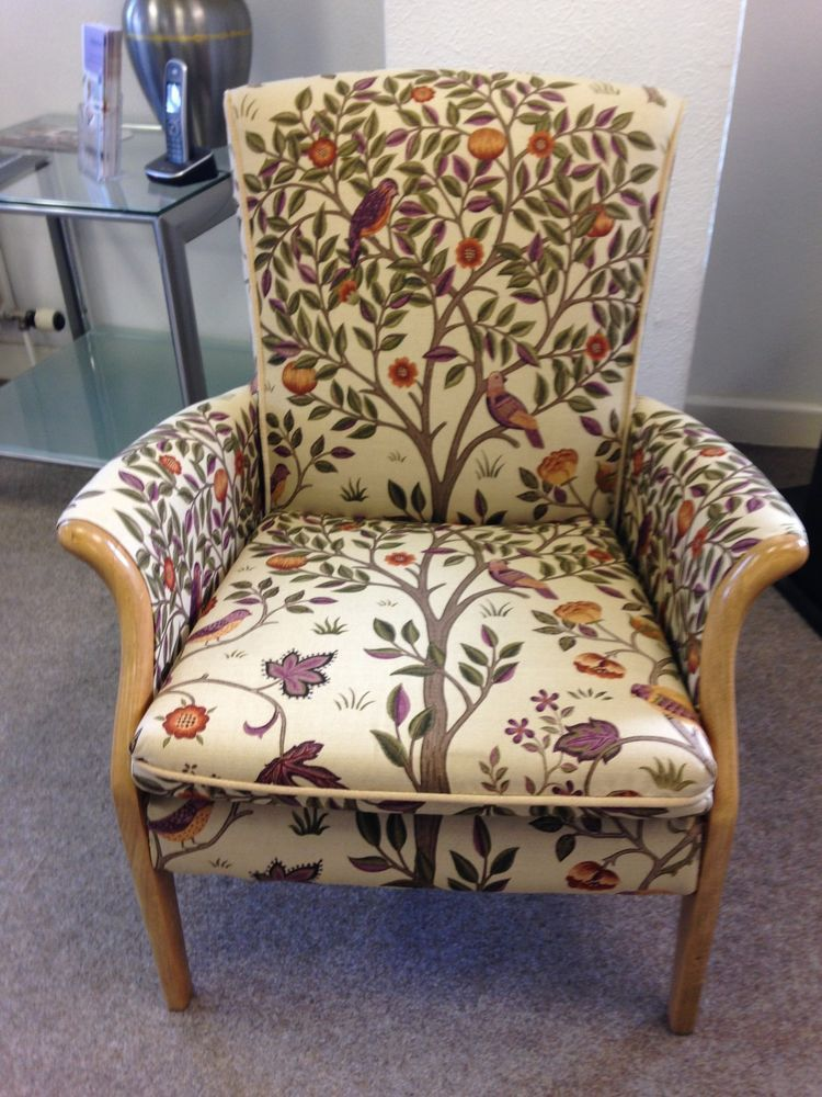 Parker Knoll Foxfield Arm Chair Accent Chair William Morris