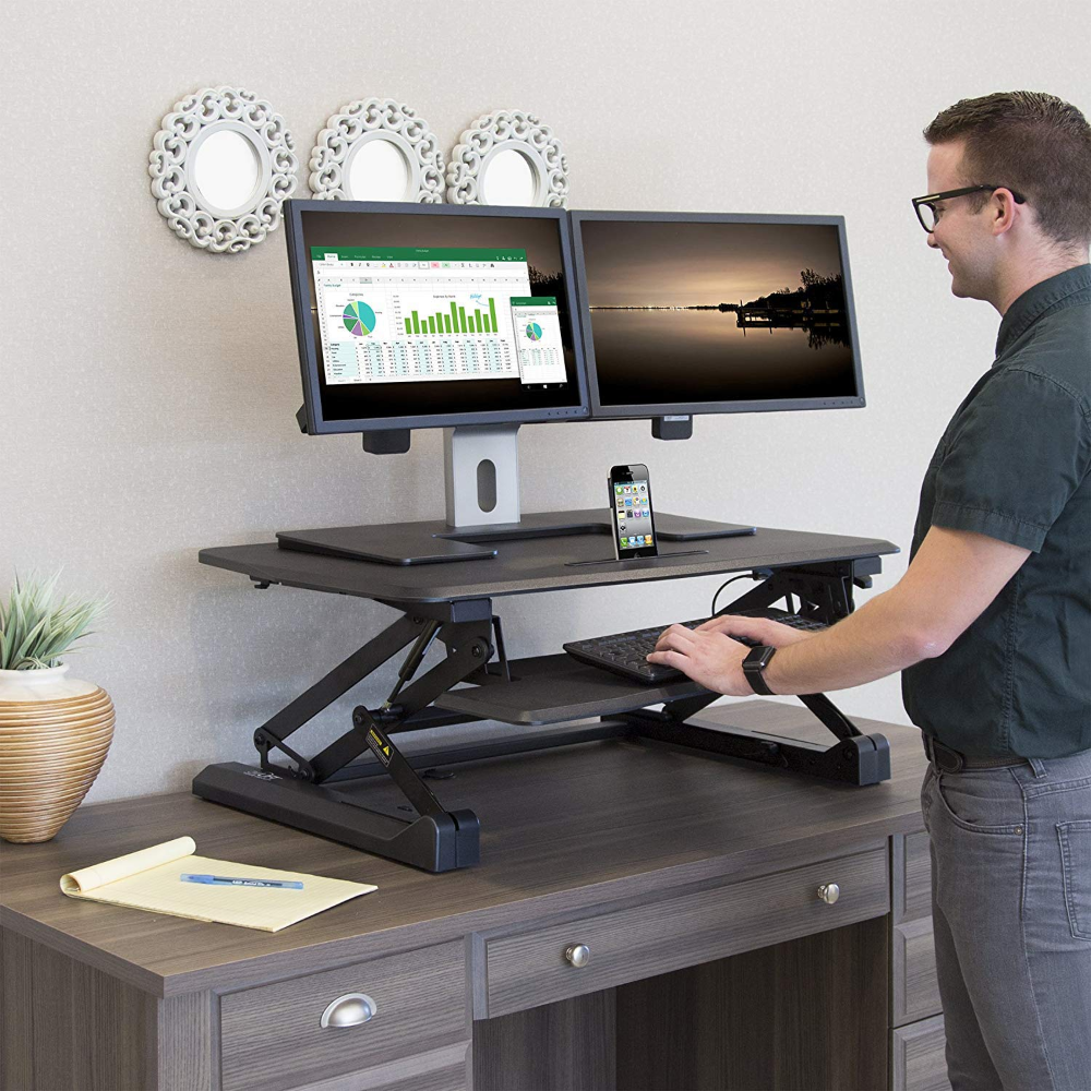 Amazon Com Airlift 36 Gas Spring Height Adjustable Standing Desk