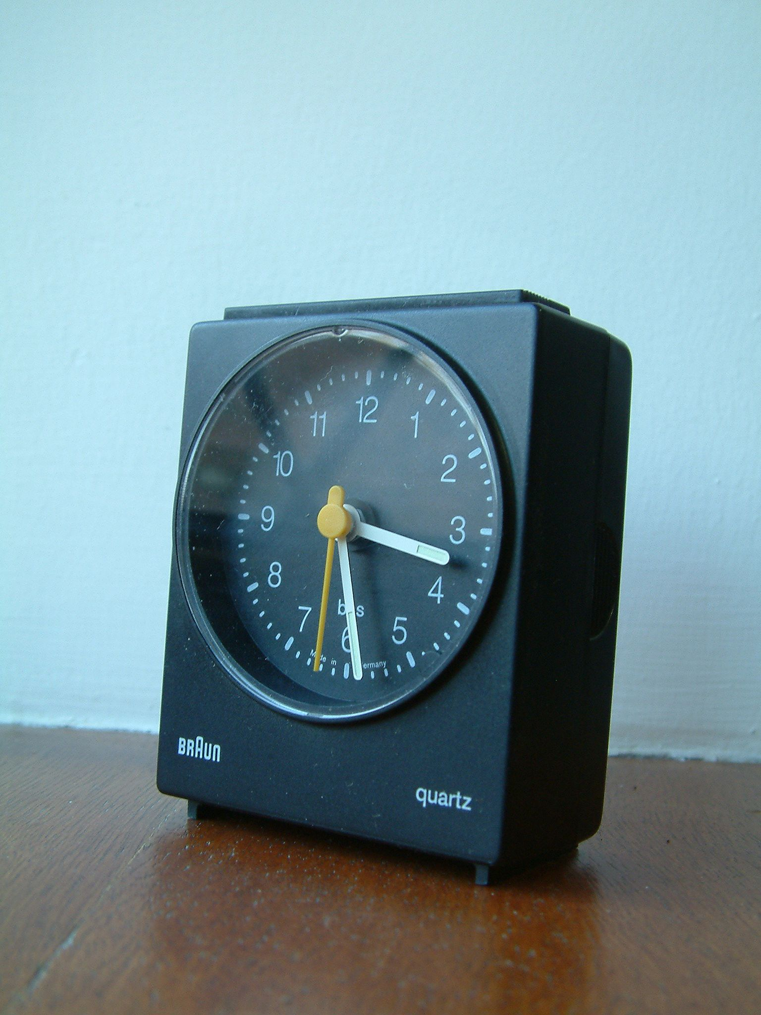 Vintage Braun Ab 30 Sl Alarm Clock By Dietrich Lubs Braun Design Braun Alarm Clock Clock