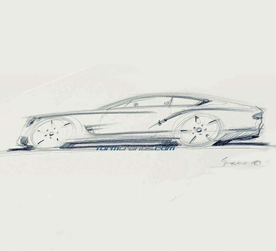 2018 #Bentley Continental GT sketch by design director Stefan Sielaff. Video here > https://www.formtrends.com/sielaff-2018-bentley-continental-gt/