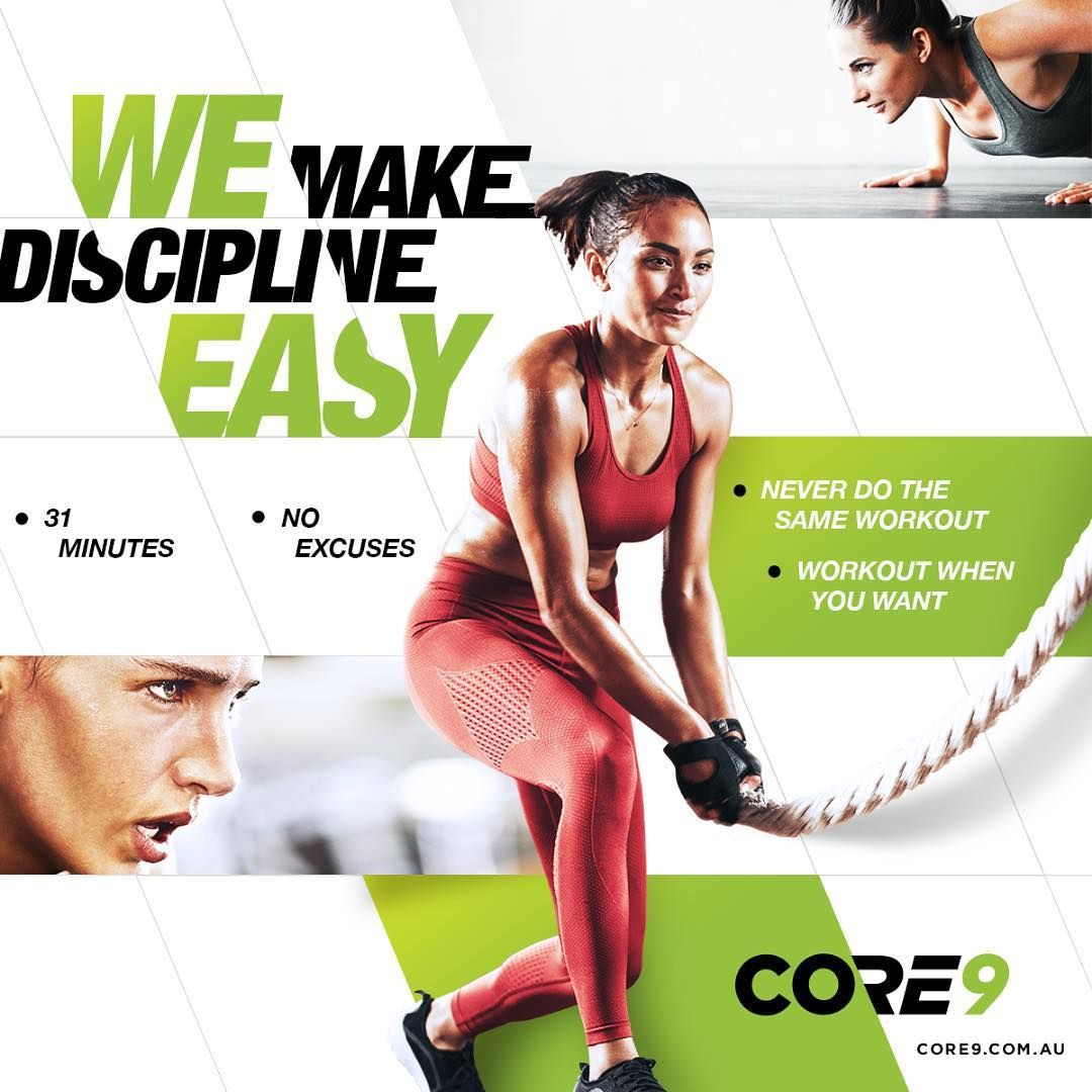 Discipline allows you to achieve goals and here at Core9 we have made it easy for you to remain disc...