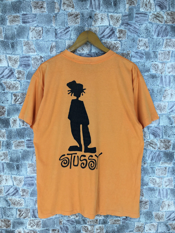 4040489ccdc0e Vintage STUSSY Tshirt Large 90's Stussy Usa Stussy Skaters Boys ...