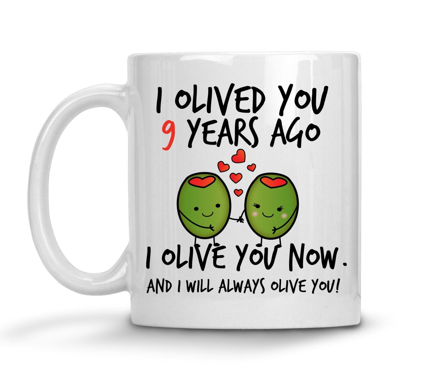 9th wedding anniversary gift for him personalized