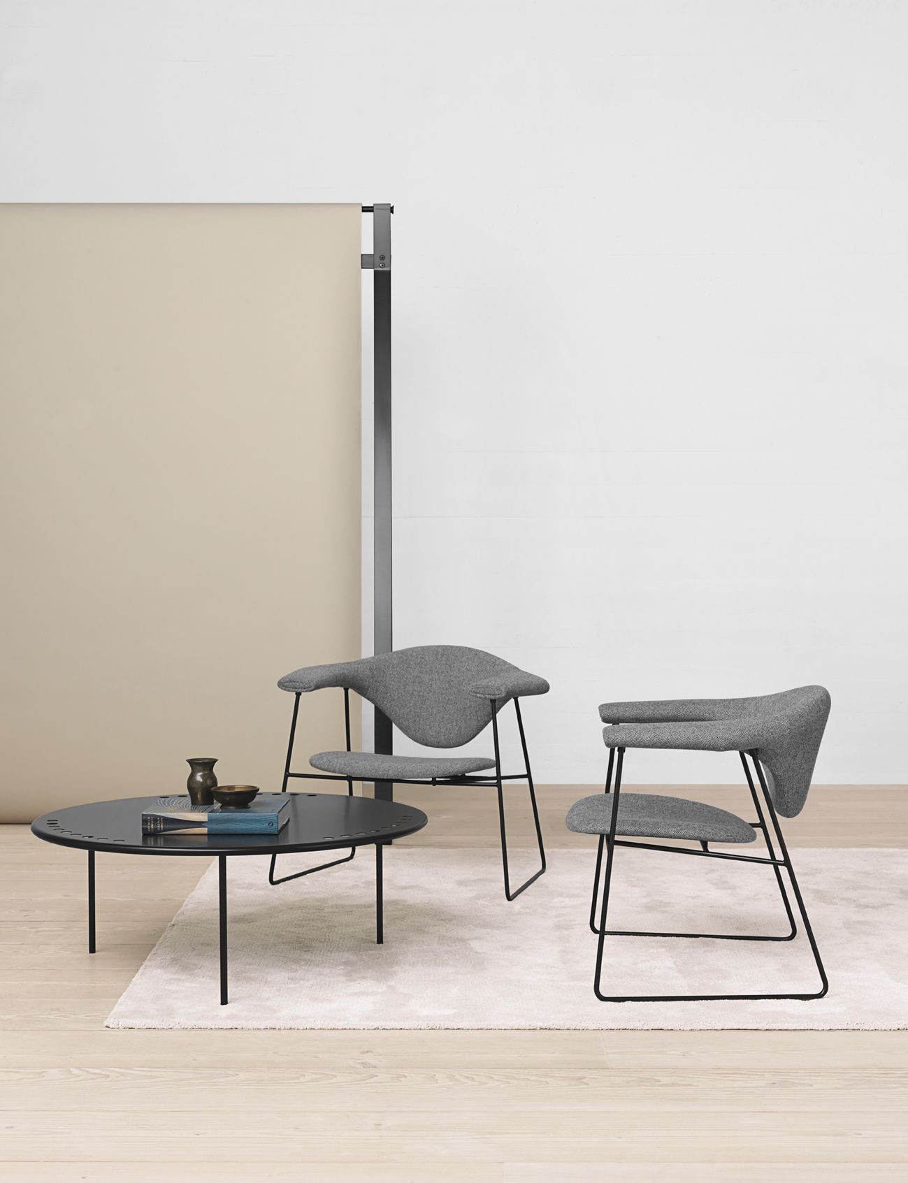 lounge tables and chairs. GUBI - Masculo Lounge Chair And Copacabana Table Http://decdesignecasa.blogspot. Tables Chairs I