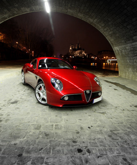 The Alfa Romeo 8C Might Look Sweet And Innocent But This