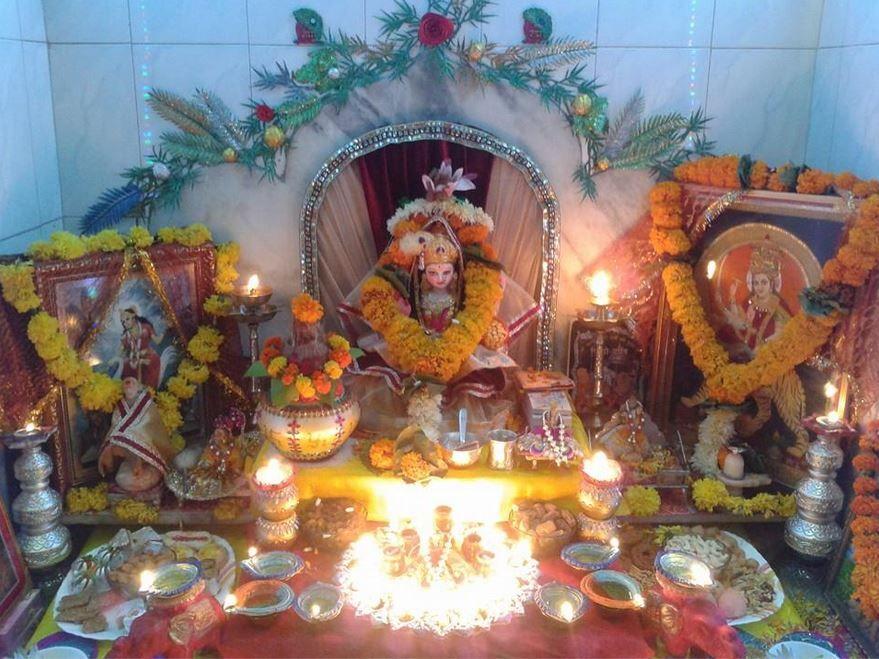 pooja room designs and decor for gudi padwa diwali pooja