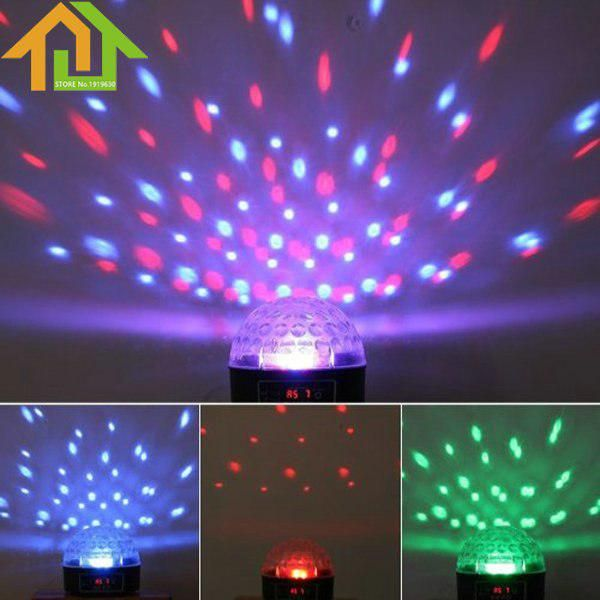 Led Rgb Ball Mini Disco Stage Lamp Led Crystal Magic Effect Dot Light For Dj Party Disco Bar Ktv Yesterday S P Magic Ball Light Crystal Magic Ball Ball Lights