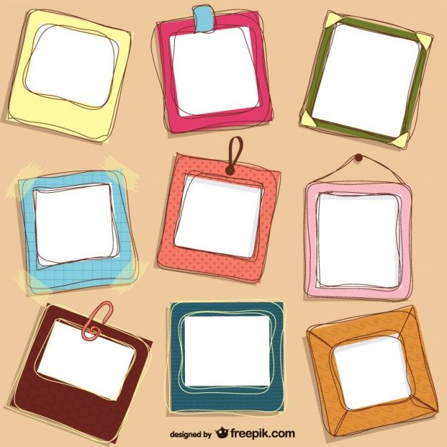Marcos | Diseño | Pinterest | Marcos, Marcos de colores y Vectores ...