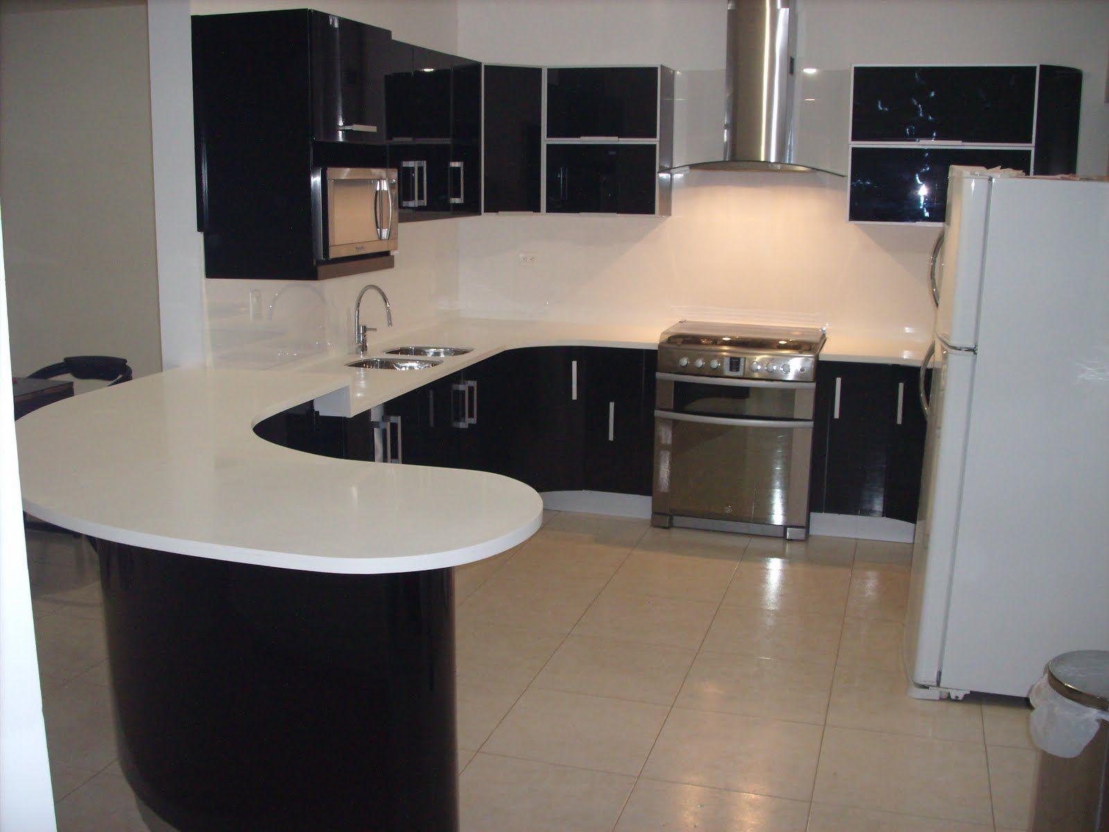 Diseños de muebles de cocinas de melamina modernos-4 | Casa ...