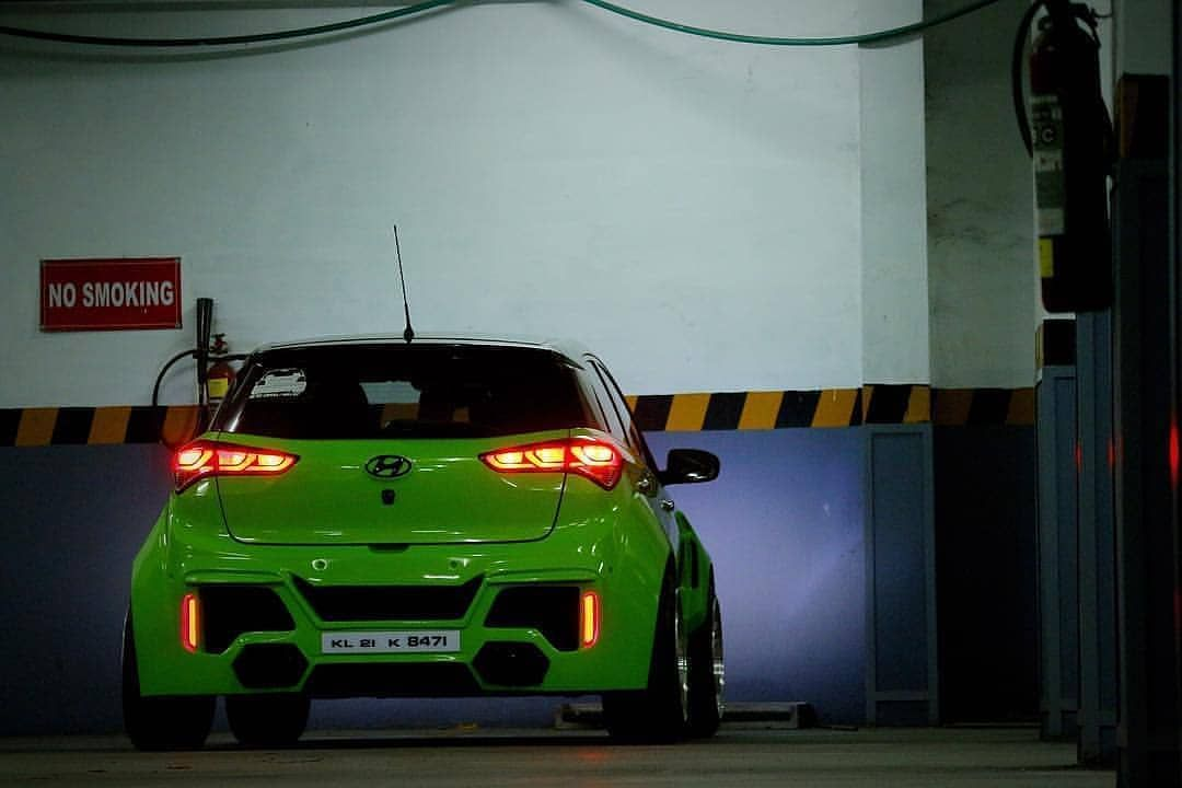 Modified Hyundai I20 Green Modifiye Modified Cars Cars