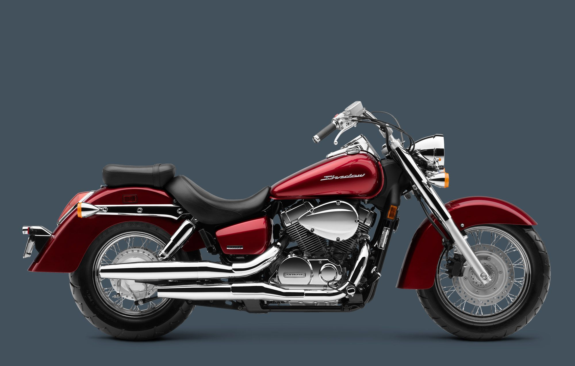 Honda Shadow Aero.  This is the one I want, this color, this size.  Pink or lime green with a hello kitty or tink yep