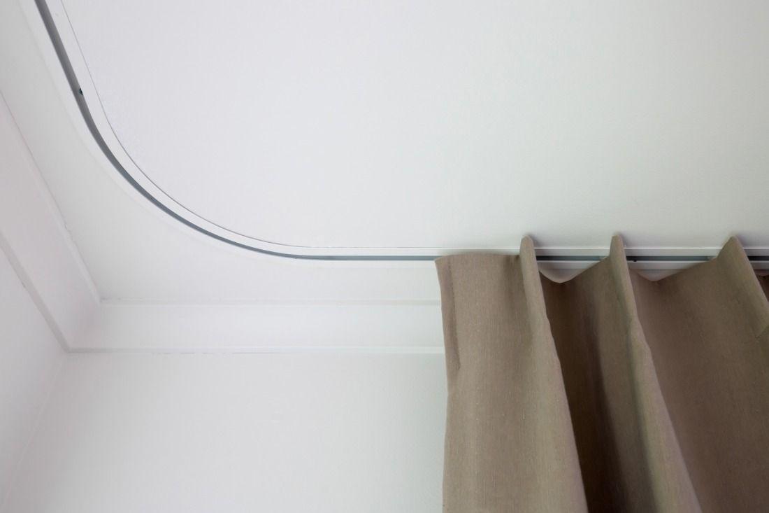 flush fit curtain track curtain rails