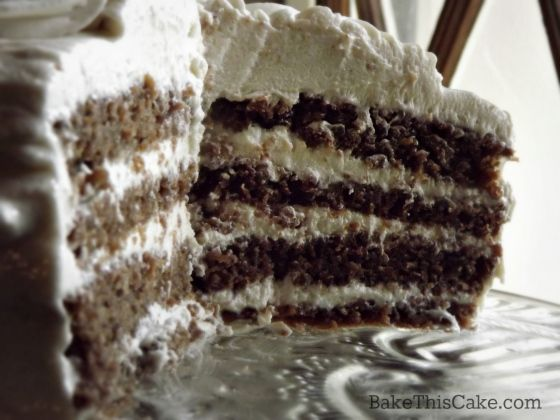 Go vintage baking! Check out this 4 layer Brown Red Velvet Cake ...