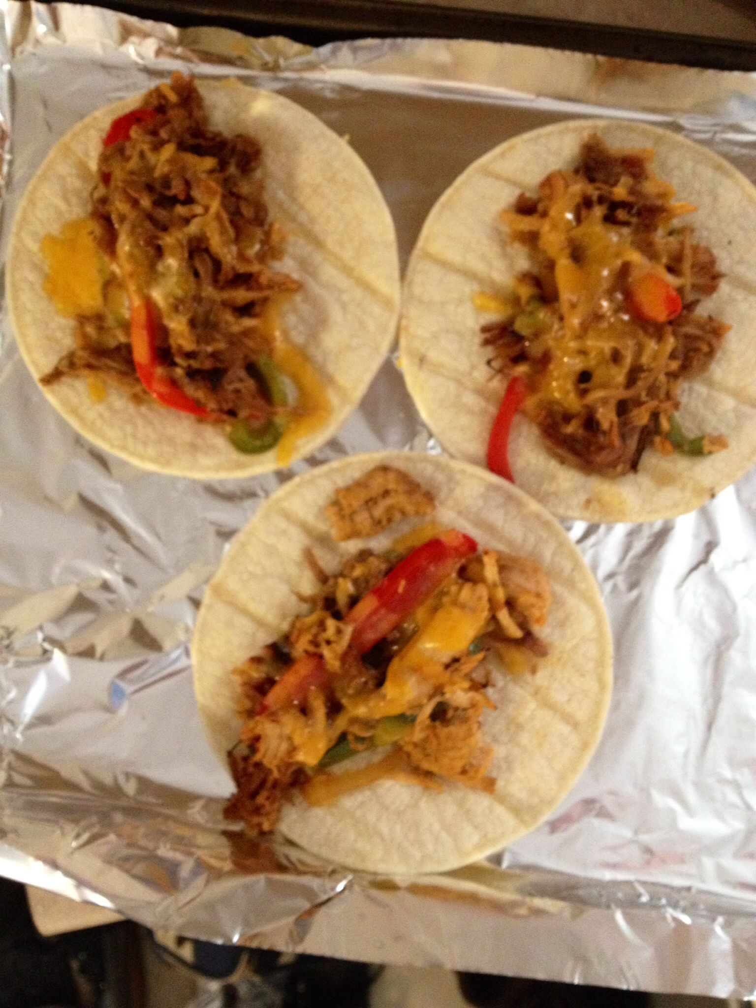 Pork carnitas. Tried this tonight. I couldn't make them fast enough!! Kids were chowing down!