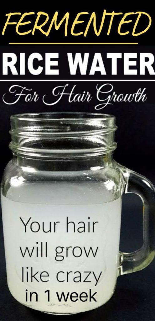 Powerful Rice Water Recipes For Healthy Natural Hair Growth In Just 1 Week -