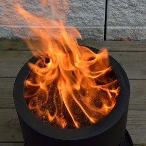 Smokeless Wood Pellet Fire Pit Fire Pit Plans Fire Pit Wood Pellets