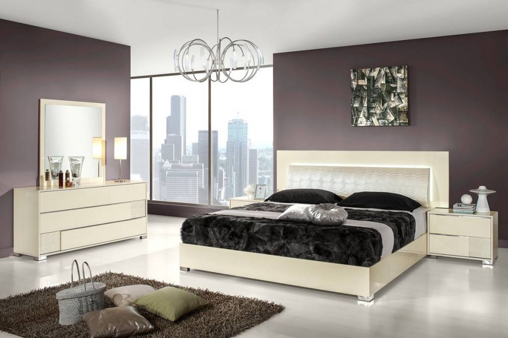 italian lacquer bedroom furniture - modern bedroom interior ...