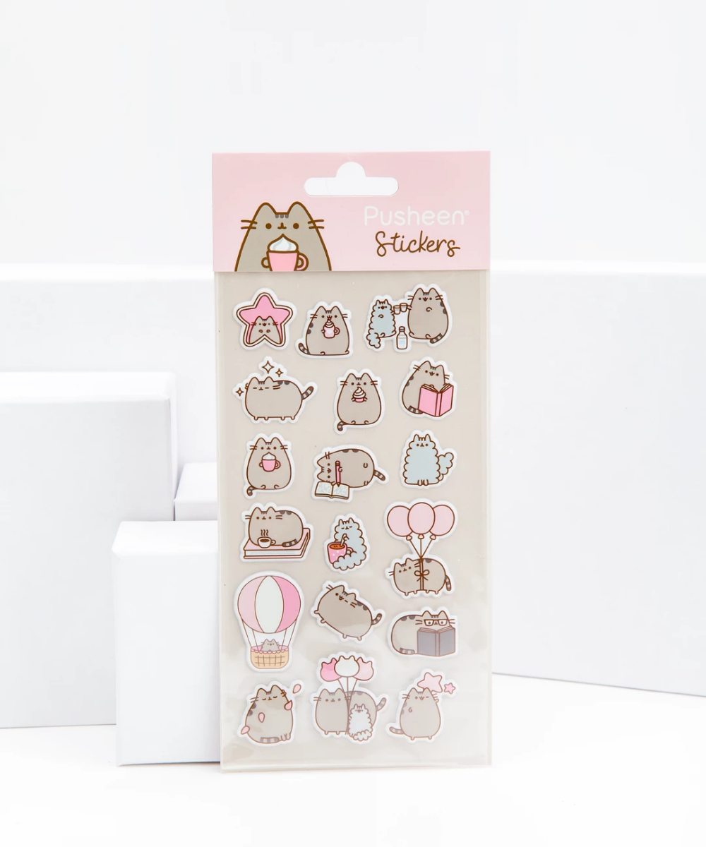 Pusheen The Cat Sweet and Simple Puffy Sticker Sheet