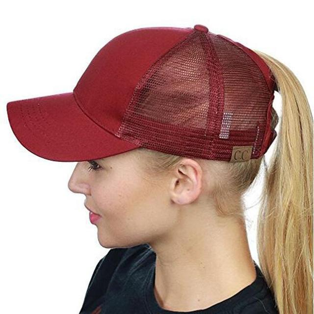 d6f49696e 2018 Summer CC Glitter Ponytail Baseball Snapback Cap Dad Hats for ...